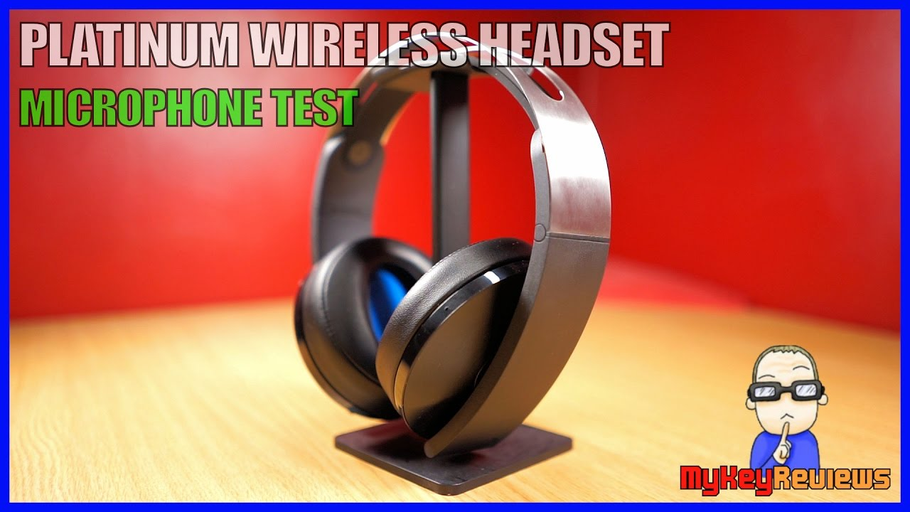 Platinum Wireless Headset - Microphone Test (PS4)  17d6162c89