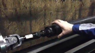 видео Балансировка карданных валов