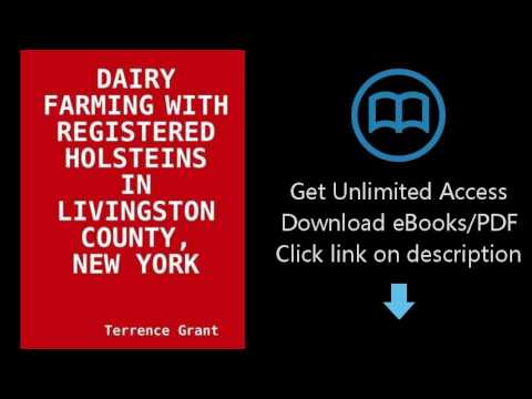 Dairy Farming With Registered Holsteins In Livingston County, New York