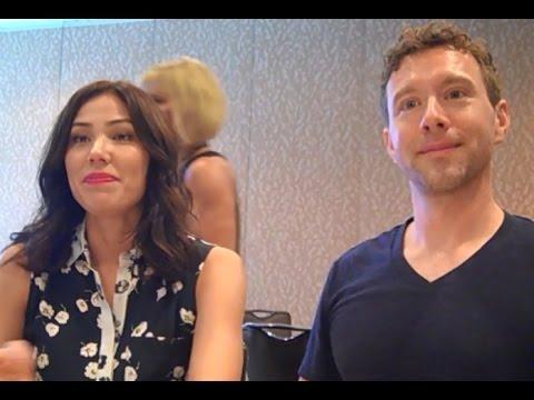 Bones  Michaela Conlin, T.J. Thyne , Season 12 Comic Con