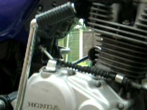 cg125 how to fix a starter motor part 1