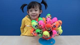 Toy Surprise Eggs Opening – Trò Chơi Bóc Trứng Bất Ngờ ❤ Anan ToysReview TV ❤