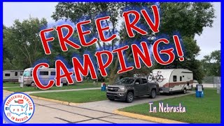 FREE RV Camping iฑ Nebraska ~ Full Time RV living ~ POA vlog