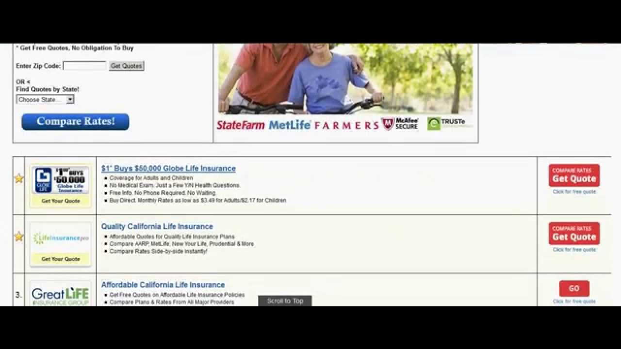 Globe Life Insurance Quote Burial Insurance For Seniors Over 90 Quotes  Youtube