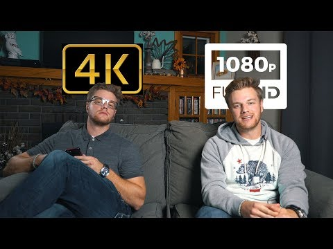 Should you shoot in 4K or 1080p?