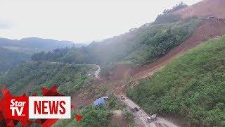 Landslide in Kundasang cuts off Sabah's east and west coast links
