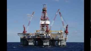 Gulf of Mexico Oil Rigs - USA