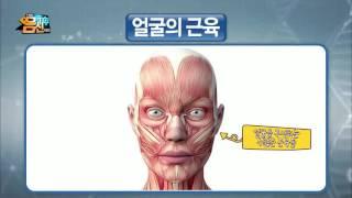 얼굴 탄력을 빼앗는 2가지 원인! 콜라겐과 근육!