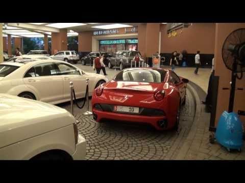 Mall of the Emirates - luxury cars - Dubai - 07.08.10
