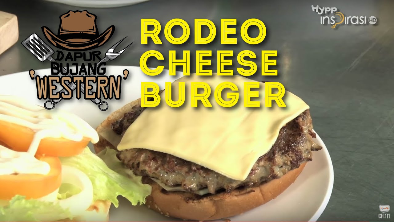 Dapurbujang Western Rodeo Cheese Burger You
