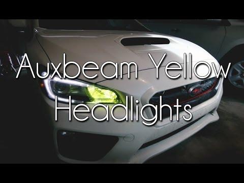 Hyper-Yellow DRL's? (Auxbeam Headlights)