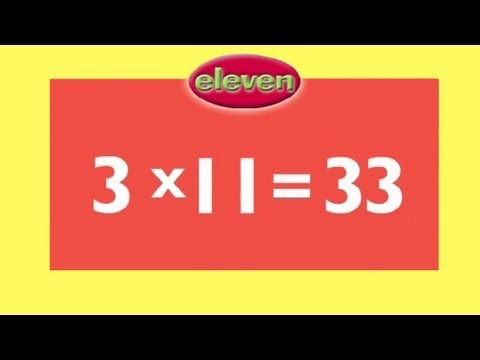 11 Times Tables  Kids Multiplication Song  Children Love to Sing