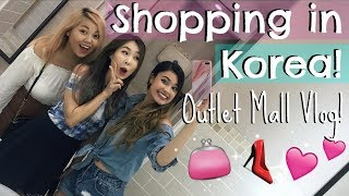 Shopping At a Korean Outlet Mall | Spend the Day with me Vlog!