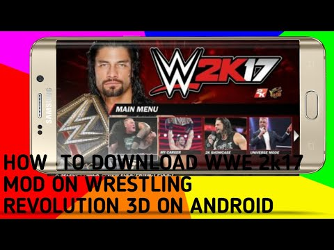 Download How To Download Wwe Wr3d Mod Game Android