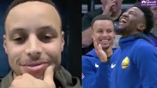 Steph Curry Gets Trolled EPICALLY By Kings, Shares IG Live Chat With NASA Astronaut