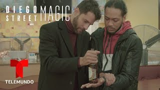 Diego Street Magic | Master Magician Diego Will Blow Your Mind! | Telemundo English