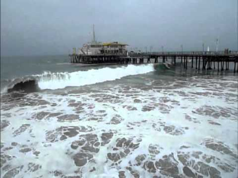 Surf's Up - Santa Monica Beach, California - 9-1-11