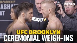 UFC Brooklyn Ceremonial Weigh-Ins – MMA Fighting