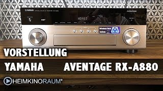 Yamaha Aventage Rx-A880 7 2-Ch 4K Ultra HD AV Receiver with
