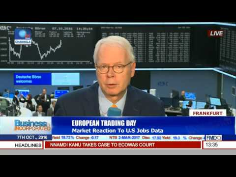 Business Incorporated Market Reaction To US Jobs Data