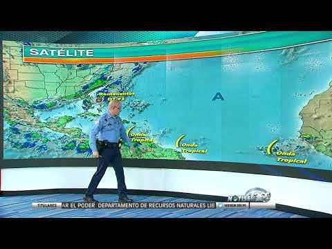Varios ondas tropicales