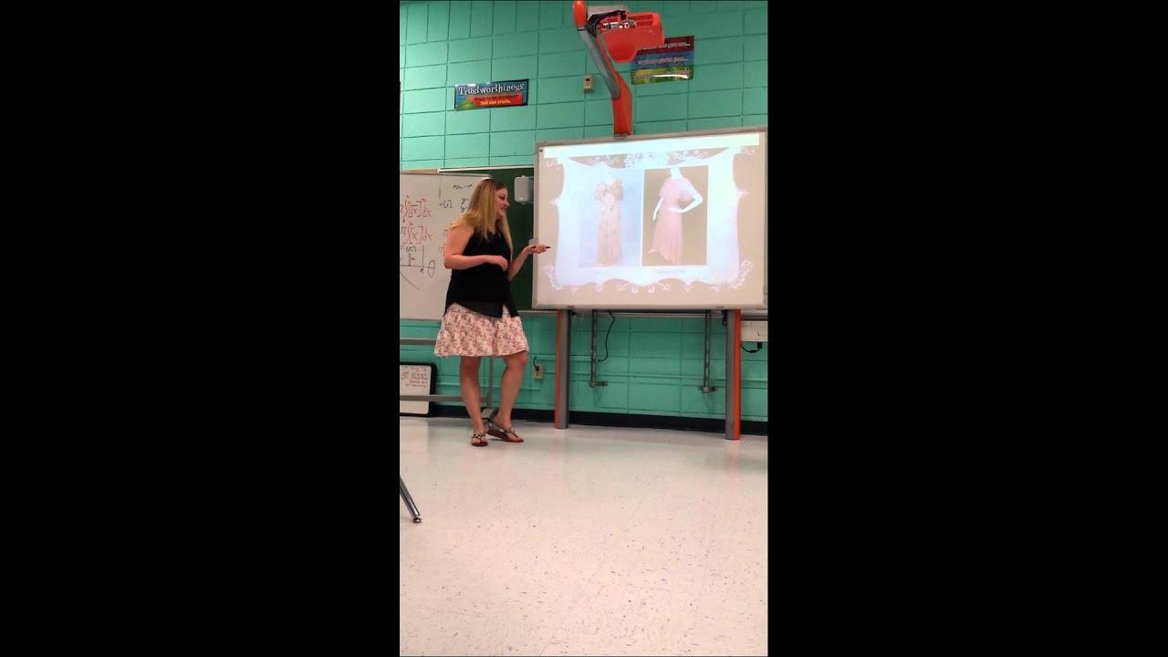 informative speech on fashion
