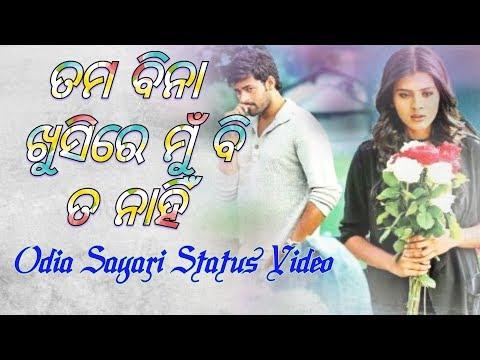 ତମ ବିନା ଖୁସିରେ ମୁଁ ବି ନାହିଁ |Odia Sayari Whatsapp Status Video | Openurheart