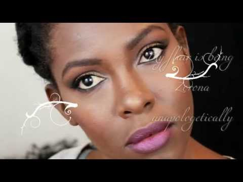 FALL MAKEUP FOR BLACK WOMEN FULL FACE| FLAIRELLE