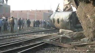 مئة مصاب على الاقل في حادث انقلاب قطار ركاب في مصر