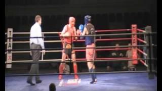 Filip Gałuszka  walka 2 Puchar Polski Muay Thai  2009