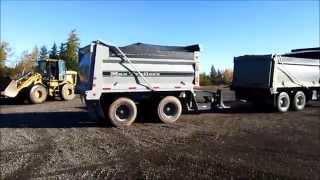 Dumping Tandem & Pup Trailer