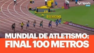 Mundial de Atletismo: FINAL 100 metros, victoria de Christian Coleman
