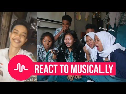 REACT TO MUSICALLY !! - Cringe Berkelas..