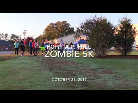 The F&MWR 2017 Zombie 5K on Fort A.P. Hill