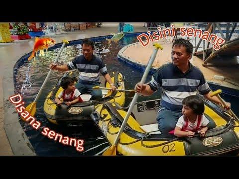 Disini Senang Disana Senang Naik Perahu Dayung || Lagu Anak Indonesia