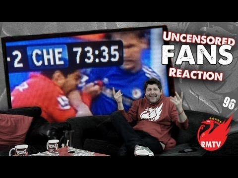 Luis Suarez Bites Branislav Ivanovic: (Liverpool Fans Uncensored Reaction Show)