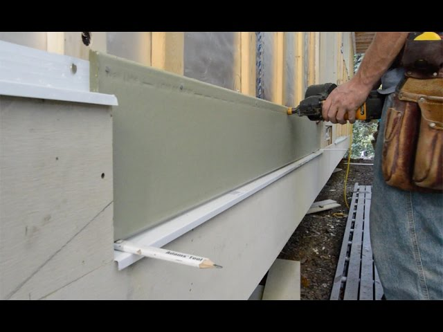 Lap Siding Installation Basics Youtube