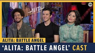 Jorge Lendeborg Jr., Lana Condor and Keean Johnson talk 'Alita: Battle Angel'