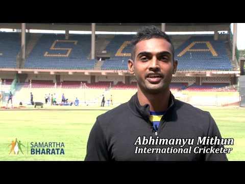 Abhimanyu Mithun, International Cricketer