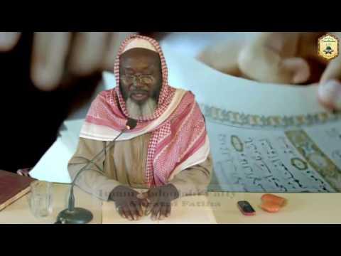 Tafsir   Surah 001 - Al-Fatiha   Imam Abdullah Fatty   Mandinka