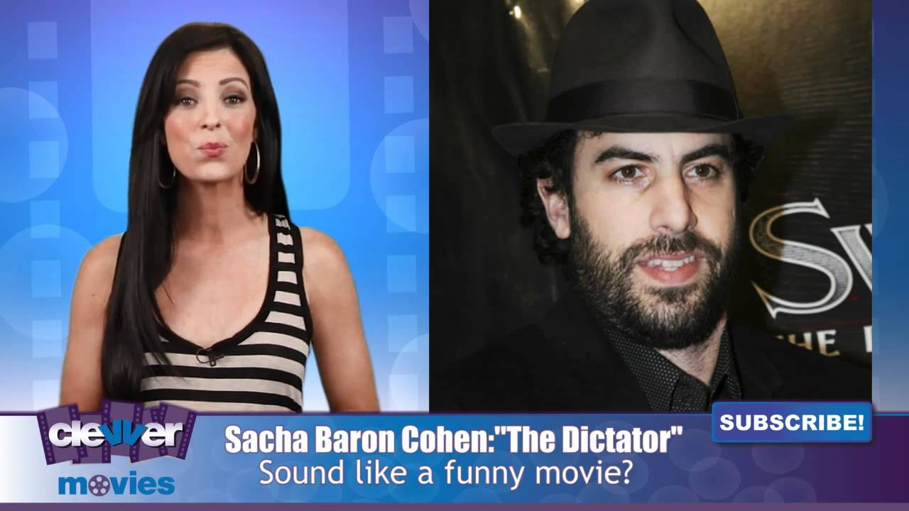 "Sacha Baron Cohen Is ""The Dictator"" In New Movie - YouTubeSacha Baron Cohen Movies"