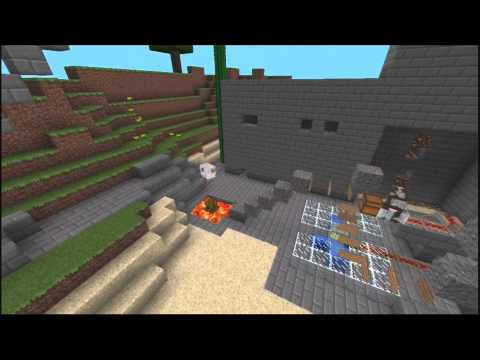 How to kill a pig WITH STYLE! Minecraft PE Redstone Alternative Map