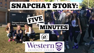 Snapchat Story: My Freshman Year at Western University in 5 Minutes