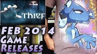 February 2014 Video Game Releases **Thief, Fable, FFXIII Lightning, Telltale! FEB14