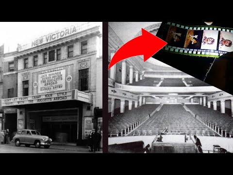 ABANDONED ODEON CINEMA (FOUND MOVIES) SHUT FOR 25 YEARS UK URBEX PRESTON