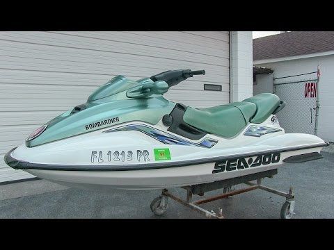2000 Sea-Doo GTi jet ski walk-around tutorial video