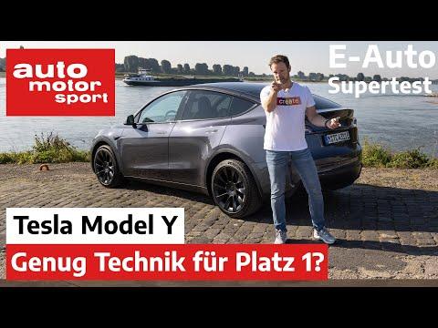 Viel Technik, aber auch direkt Benchmark? Tesla Model Y im E-Auto Supertest - Bloch erklärt #158