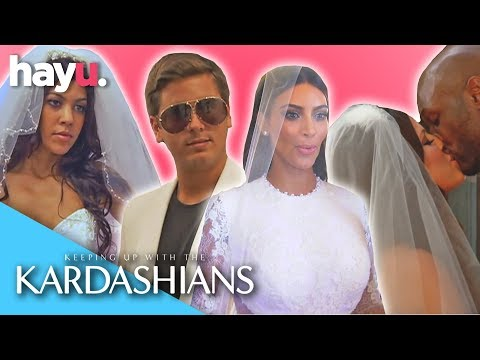 Kardashian Weddings! 💍🔔| Keeping Up With The Kardashians