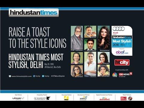 Uncut | Hindustan Times Most Stylish 2016, Delhi | Amitabh Bachchan | Akshay Kumar | Manish Paul