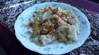 Asmr: Eating Cabbage Jambalaya
